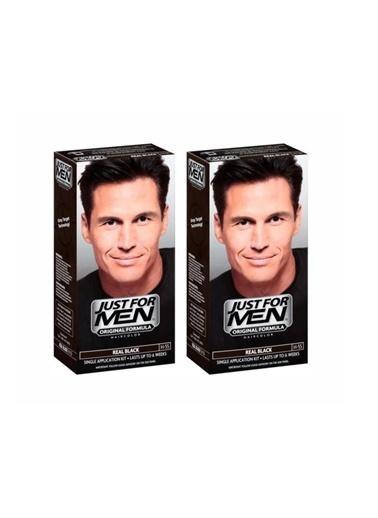 Just Formen Just For Men Siyah H-55 Saç Boyası X2 Adet Renkli